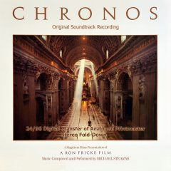 CHRONOS Original Soundtrack Recording (by Michael Stearns) [cover artwork]