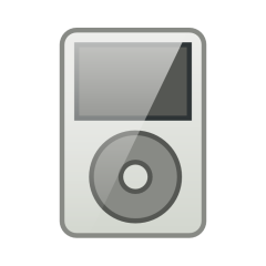 Digital releases (iPod icon)