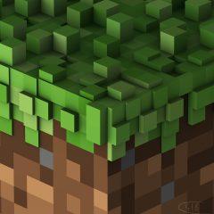 Minecraft Volume Alpha Soundtrack CD (cover art)