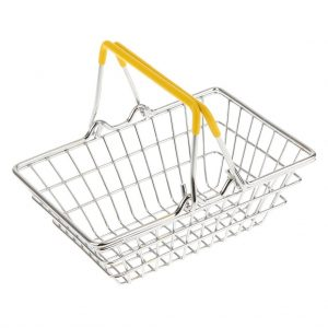 Shopping Basket (yellow handles)
