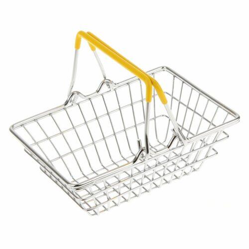 Shopping Basket (yellow handles)