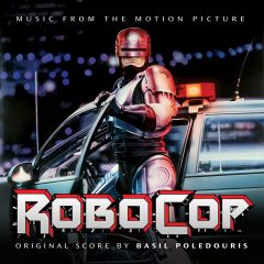 RoboCop soundtrack cover artwork