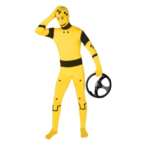 Crash Test Dummy (with steering wheel accessory)